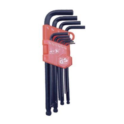 Jet 775173 10 PC SAE Ball Nose Hex Key Set