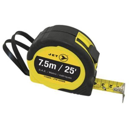 Jet 775929 25ft SAE & Metric Tape Measure
