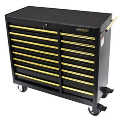 "Jet 842614 41"" x 18"" 16 Drawer B&G Series Roller Cabinet"