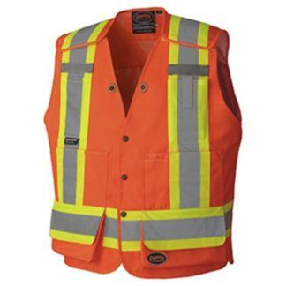 Pioneer 6694 Hi-Viz Surveyor's Safety Vest