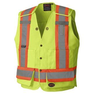Pioneer 6695 Hi-Viz Surveyor's Safety Vest