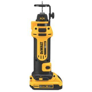 DeWalt DCS551D2 20V Max Drywall Cut-Out Tool Kit