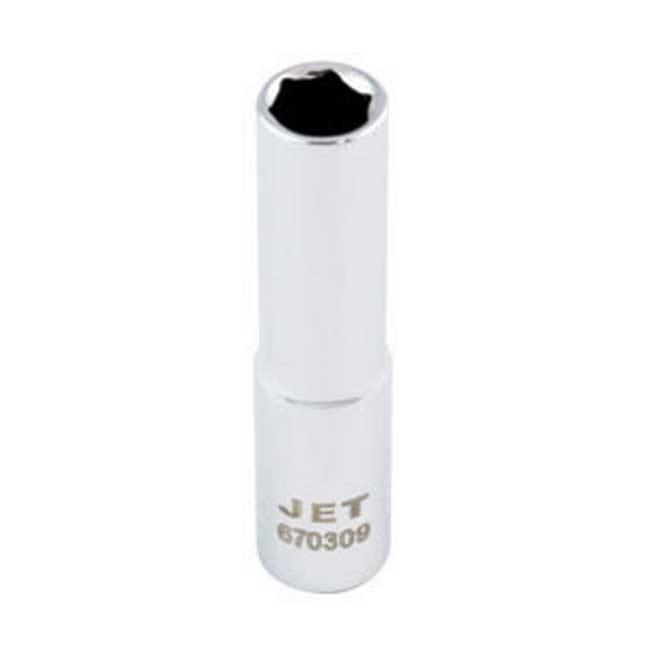 Jet Deep Chrome Socket - 6 Point