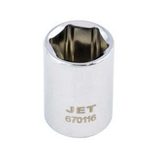 Jet Regular Chrome Socket - 6 Point