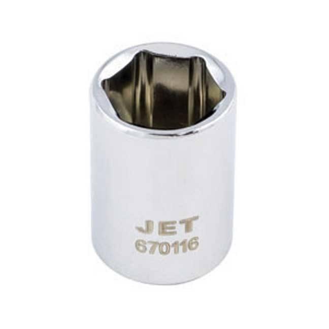 Jet Regular Chrome Socket - 6 Point