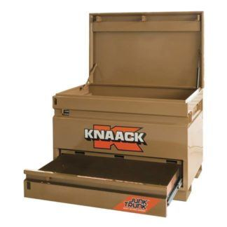 Knaack Model 4830-D Jobsite Chest with Junk Trunk