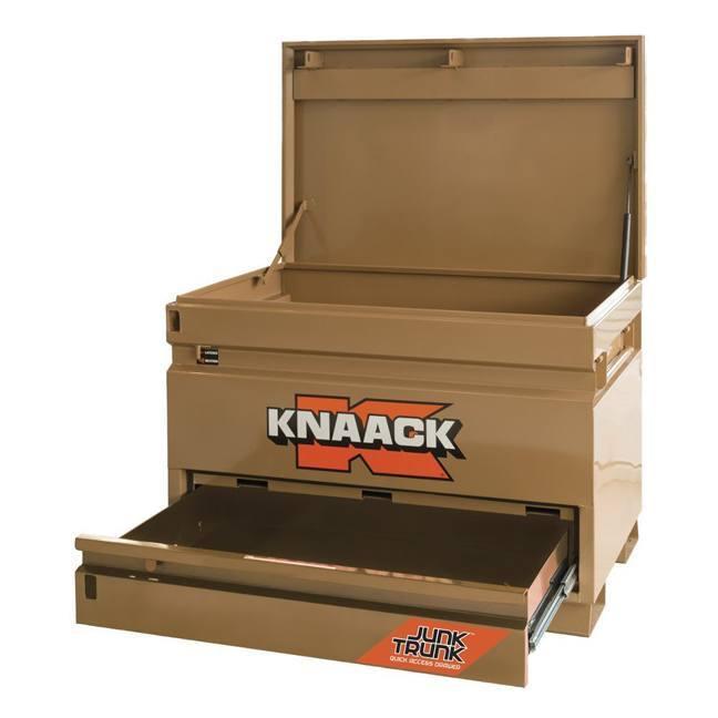 Knaack Model 4830-D Jobsite Chest with Junk Trunk