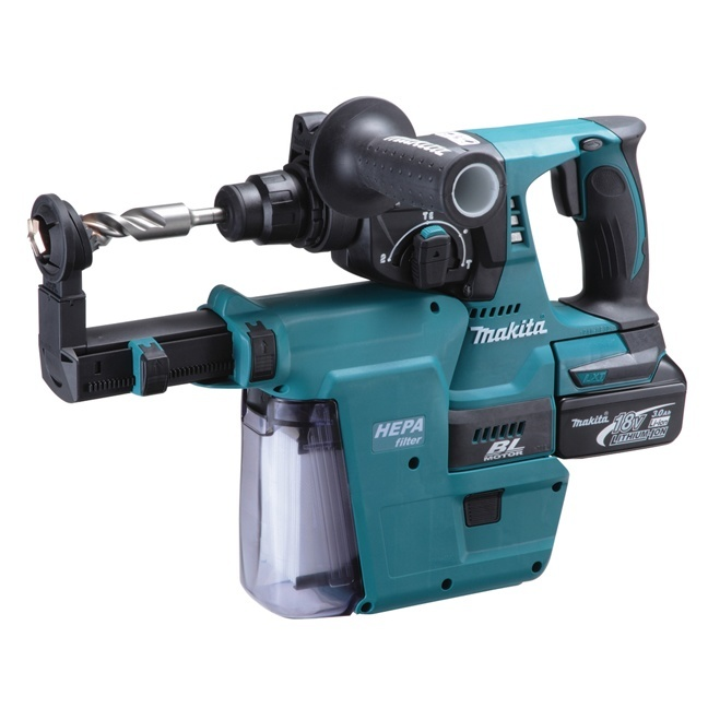 Makita Dhr242rmev 15 16 Quot 18v Brushless Rotary Hammer Kit