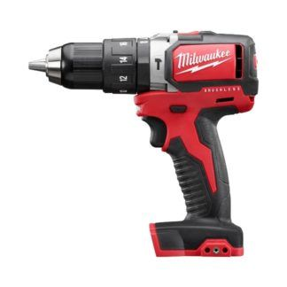 "Milwaukee 2702-20 M18 1/2"" Compact Brushless Hammer Drill Driver"