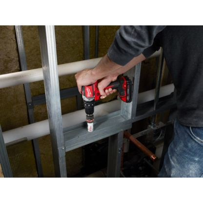 Milwaukee 2702-20 M18 Compact Brushless Hammer Drill Driver In Use 1