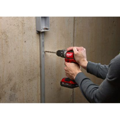 Milwaukee 2702-20 M18 Compact Brushless Hammer Drill Driver In Use 2