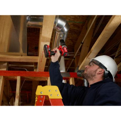 Milwaukee 2702-20 M18 Compact Brushless Hammer Drill Driver In Use 3