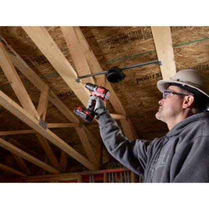 Milwaukee 2702-20 M18 Compact Brushless Hammer Drill Driver In Use 4