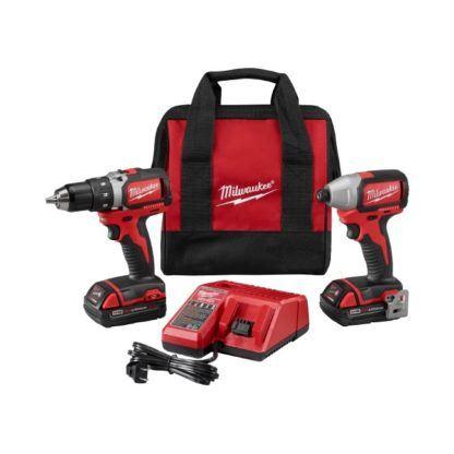 Milwaukee 2798-22CT M18 Brushless Drill & Impact Driver Kit