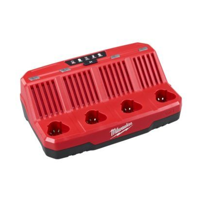 Milwaukee 48-59-1204 M12 Four Bay Sequential Charger104