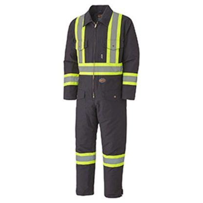 Pioneer 5539A Quilted Cotton Duck Safety Coverall