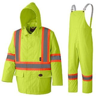 Pioneer 5609 Tough 150D Oxford Poly PVC Rain Suit