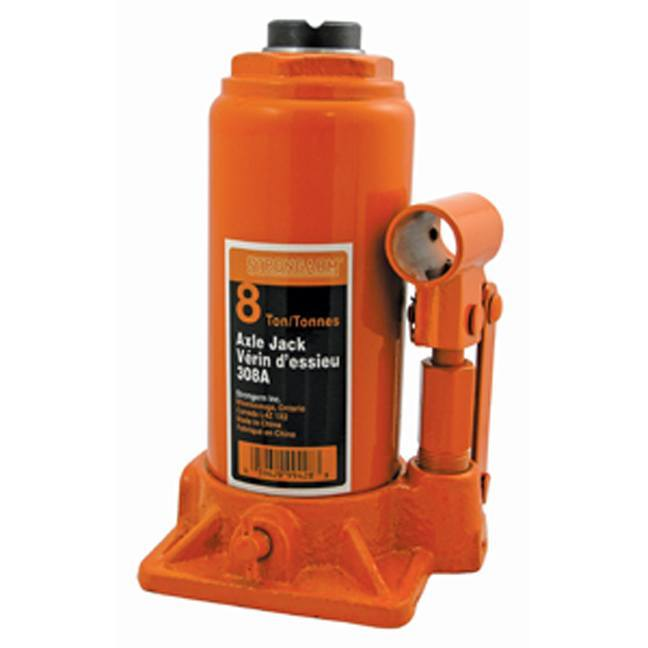 Strongarm 030105 8 Ton Bottle Jack - Heavy Duty