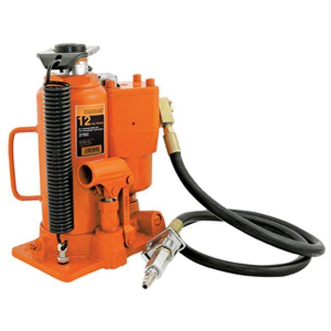 Strongarm 030152 12 Ton Air Hydraulic Bottle Jack - Heavy Duty