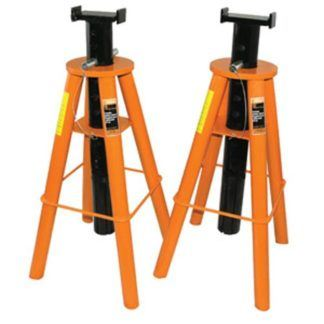 Strongarm 032226 10 Ton Jack Stands High Profile Set