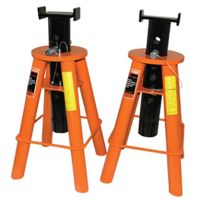 Strongarm 032228 10 Ton Jack Stands Low Profile Set