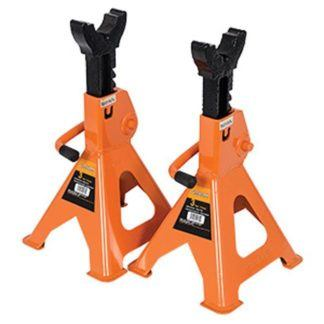 Strongarm 032241 3 Ton Jack Stands - Ratcheting Style