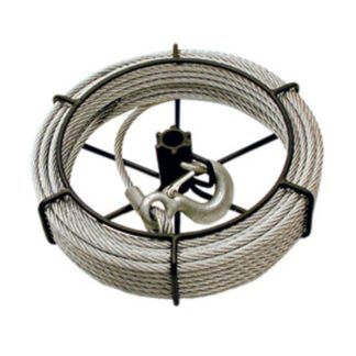 Jet 111153 1-1/2 Ton 66' Cable Assembly For Wire Grip Pullers