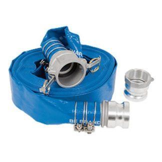 "Jet 291475 Water Pump Discharge Hose 2"" x 50'"