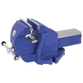 "Jet 320313 5"" SG Iron Bench Vise - Super Heavy Duty"
