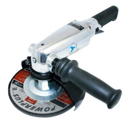 "Jet 402333 7"" Angle Grinder with Anti-Vibe Handle - Heavy Duty"