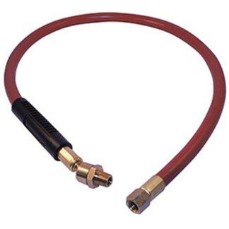 "Jet 408172 3/8"" x 3' Air Hose Whip With Swivel"