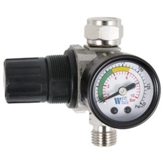 "Jet 408812 1/4"" NPT Air Dial Regulator with Gauge"