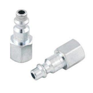 "Jet 420002 'I/M' Plug Female - 1/4"" Body x 1/4"" NPT"