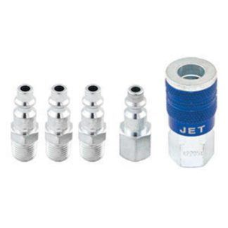 "Jet 420091 5 PC 'I/M' Air Fitting Set - 1/4"" Body x 1/4"" NPT"