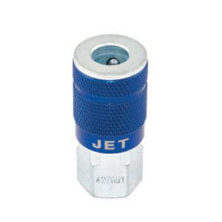 "Jet 420651 'A' Coupler Female - 1/4"" Body x 1/4"" NPT"