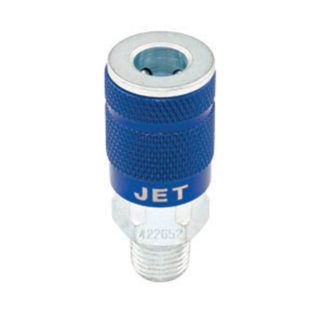 "Jet 420652 'A' Coupler Male - 1/4"" Body x 1/4"" NPT"