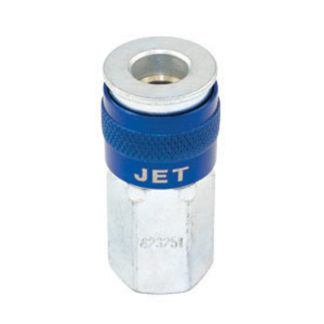"Jet 421251 ""U"" Universal Coupler Female - 1/4"" Body x 1/4"" NPT"