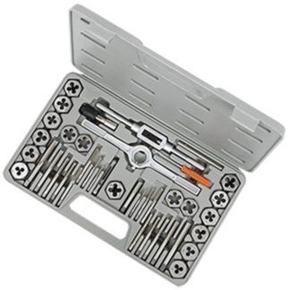 Jet 530107 40 PC Metric HSS Tap and Alloy Die Set