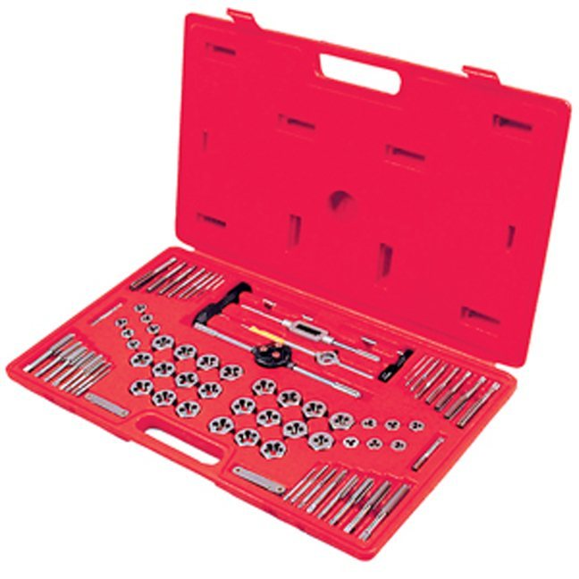 Jet 530108 76 PC SAE & Metric HSS Tap and Alloy Die Set