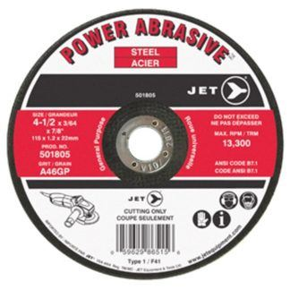 Jet A60GP POWER ABRASIVE T1 Cut-Off Wheel