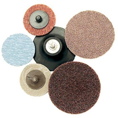 Jet Aluminum Oxide Cloth Disc - Type R Mount
