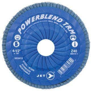 Jet POWERBLEND TRM T29 Trimmable Zirconia Flap Disc