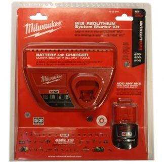 Milwaukee 48-59-2411 M12 Starter Kit