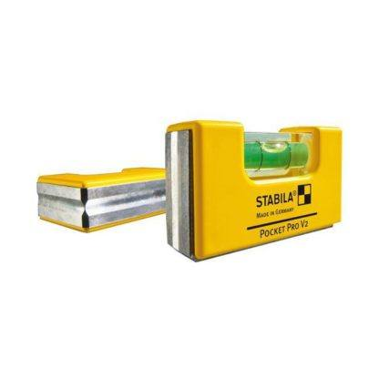 Stabila 11901 Pocket Level Magnetic with Holster