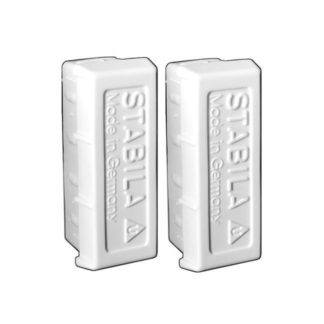 Stabila 20015 Type 80A-2 Level Endcaps - 2 Pack