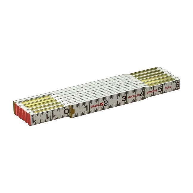 Stabila 80010 Modular 1/16ths Scale Folding Ruler
