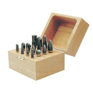 Jet 533907 16 PC JET-KUT Carbide Bur Set in Wooden Box