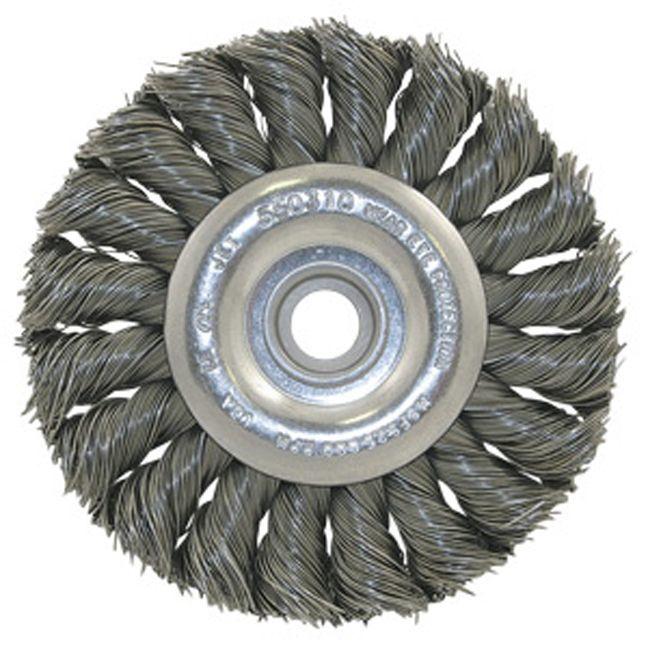 Jet 550306 8 x (5/8-1/2) Knot Twisted Wire Wheel