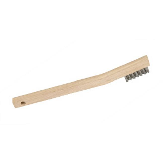 Jet 551117 3 Row, Mini, Stainless Steel Hand Wire Scratch Brush