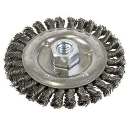Jet 553322 5 x 1/2 x 5/8-11NC Knot Wire Wheel Threaded
